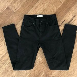 Madewell true black jeans